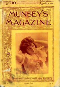 Munsey's magazine of 1894. Notice the new subcription rates.